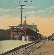 Chicago & Northwestern Railroad Depot--old