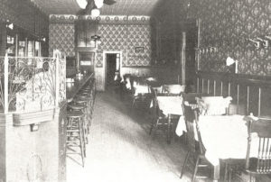 Dichmann Block 432-434 n Main _Inside The Main Bar Circa 1902