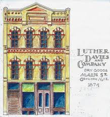 Luther Davies & Company Dry Goods-old