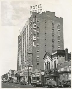 Raulf Hotel 1940's Radig Credit