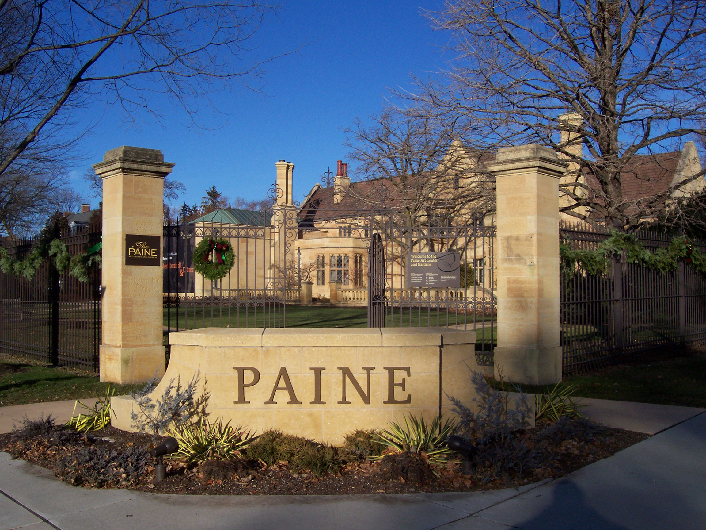 Paine Art Center 12 30 2015